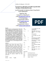 Ứng dụng giải thuật bầy đàn để xác định thông số bộ PID trong điều khiển tốc độ động cơ không đồng bộ ba pha