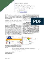 Tổng hợp luật điều khiển phi tuyến cho hệ thống cầu trục