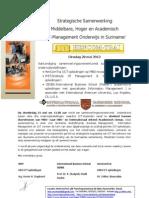 Strategische Samenwerking IMIT/Institute