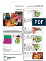Healthy living placemat sets