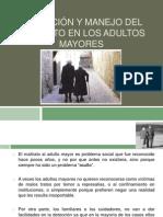 Detección y manejo del maltrato en los adultos