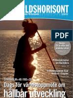 Världshorisont UN Swedish Magazine May 2012 issue