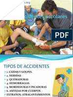 Accidentes escolares