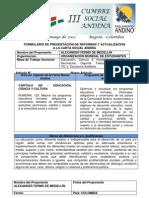 Propuesta de reforma Art. 125 Carta Social Andina