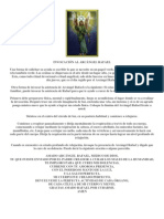 INVOCACIÓN AL ARCÁNGEL RAFAEL