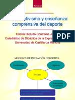 constructivismo y enseñanza comprensiva del deporte Onofre Ricardo Contreras  (1)