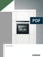 Siemens Cooking Range Instructions Manuel