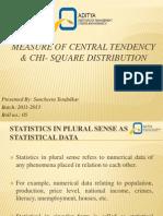 Measure of Central Tendency