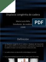 Displasia congénita de cadera