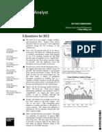US Economics - 5 Questions