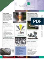 Fraunhofer Laser Cladding Applications