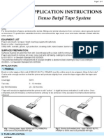 Application Instructions Denso Butyl Tape System1
