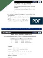 PDEs_OpenFoam