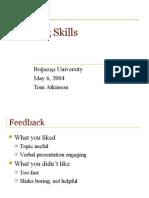 CSS - Written Communication Skills