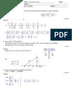 Solución Examen racionales y reales 4º OpB