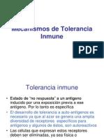 Mecanismos de Tole Ran CIA Inmune1