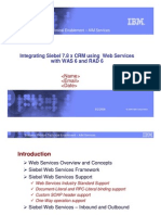 Integrating Siebel Using Web Services