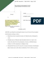 Schott v BAC Complaint