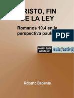 CRISTO FIN DE LA LEY
