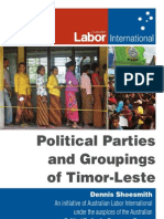 Timor-Leste Political Parties ALP Int. Projects