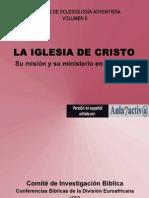 LA IGLESIA DE CRISTO