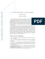 Ricci Flow With Surgery on Manifolds; Grisha Perelman