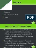 Diapositiva de Eco y Narciso