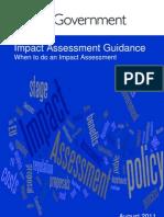 11 1111 Impact Assessment Guidance