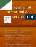 Managementul Sectorului de Servire