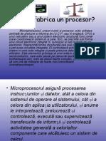 Cum Se Fabrica Un Procesor