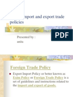 8831 Foreign Trade Policy F - 2004-09