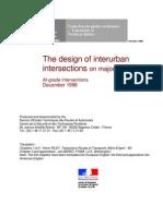 Design of Interurbain Intersections