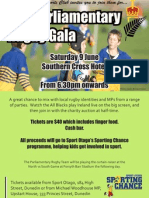 The Parliamentary Rugby Gala