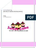 Manual Sweek Cake