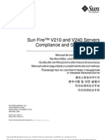 Sun Fire V210 and V240 Servers Compliance and Safety Manual