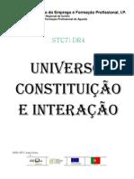 Universo constituição e interação