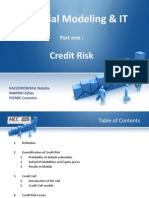 Financial Modeling & IT - Credit Risk & Swaps