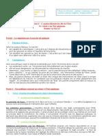 Fiche 3 - chapitre intégration européenne et politiques économiques