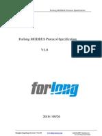 Forlong Modbus Protocol V3.0_1-4