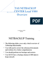 VeritasNBDCTraining Sanitized
