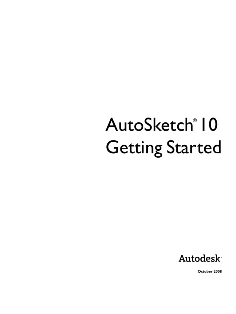 auto sketch 10 1 tutorial technical drawing button computing rh es scribd com AutoSketch 10 Windows 10 Autodesk AutoSketch 10