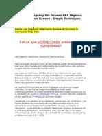Best Emergency Vet Geneva AKA Urgence Veterinaire Geneve - Simple Techniques