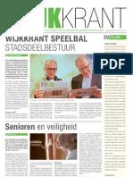 Wijkkrant Buitenveldert Amsterdam Juni 2012