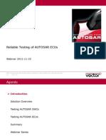 Vector Webinar AUTOSAR Testing 20111115 En
