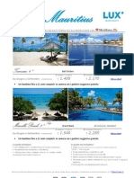 Speciale Press Tours Lux Mauritius - Maggio a Settembre 2012