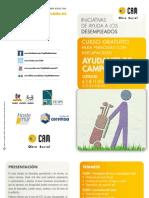 Aula CAM-Cartagena. Curso gratuito de Ayudante de Campo de Golf. Obra Social. CAM