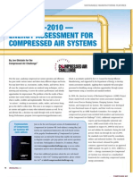Energy Assesment for Compressed Air System