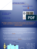 PresentaciónCAMBIOS QUÍMICOS