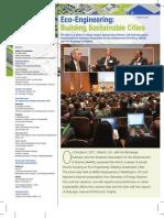 Eco-Engineering Forum 2011 - Building Sustainable Cities