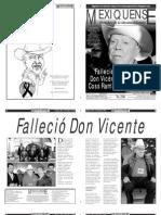 Versión impresa del periódico El mexiquense 29 mayo 2012